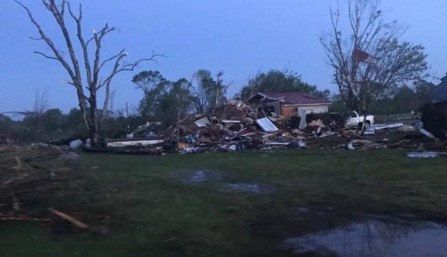 Azotan tornados a EU