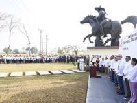 Encabeza Adán Augusto  aniversario luctuoso del  general Emiliano Zapata