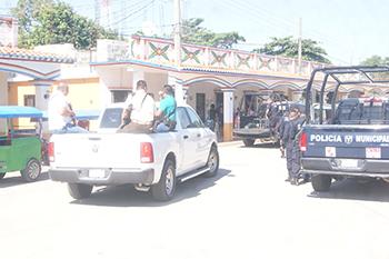 Baja índice delictivo en zonas de Nacajuca