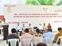 Asigna Setab plazas de ingreso y  promoción en educación básica