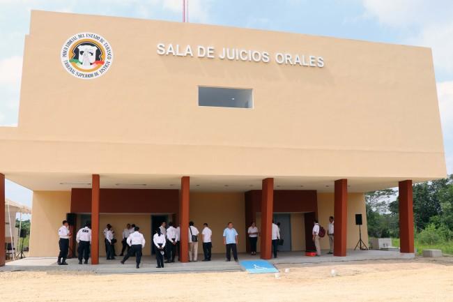 Apoya Iniciativa Mérida mejora de infraestructura en el Poder Judicial