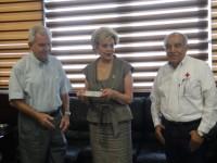 Se suma Poder Judicial a  colecta anual de Cruz Roja