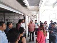 Inicia entrega-recepción  del nuevo mercado Pino  Suárez, SOTOP y Centro