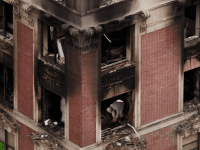Arde edificio