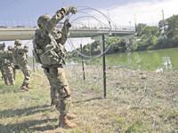 Trump tiene previsto  desplegar más vigilancia en la frontera con México