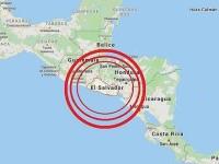 Sismo remece la costa salvadoreña