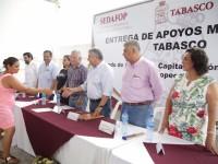 Activa Sedafop economía de traspatio en Los Bitzales