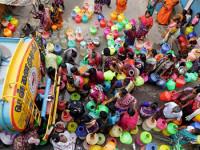 India sufre sin agua