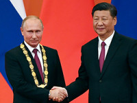 Putin recibió al presidente chino