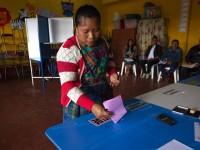 Fiesta electoral en Guatemala