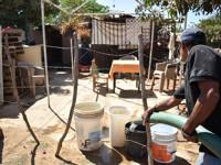 Falla servicio de agua entubada