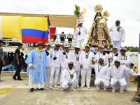 "En grande festejan a la ""Virgen del Carmen"""