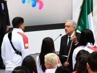 Abanderan delegación mexicana  que irá a los Juegos Panamericanos