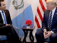 Aplazan encuentro entre Jimmy Morales y Trump