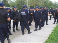Anuncian policías paro de labores