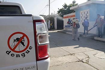 Alarma por dengue en zonas de Nacajuca
