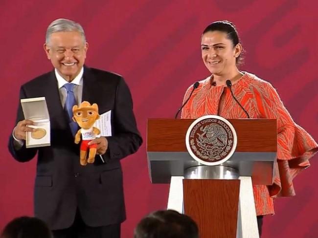 Recompensa a atletas de  Panamericanos Lima 2019