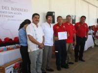Celebran en Tabasco el 'Día Nacional del Bombero'