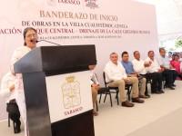 Anuncia Adán Augusto obras por 76 mdp para impulsar desarrollo