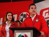 Alejandro Moreno aventaja  en elecciones internas del PRI