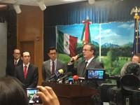 Prepara México denuncia  por terrorismo: Ebrard C