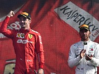Leclerc logra segunda victoria al hilo