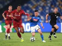 Nápoles le abolla la  corona al Liverpool