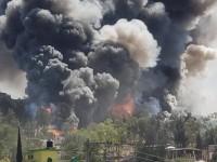 Explota fábrica de fuegos artificiales