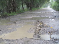 Carreteras intransitables