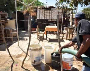 Caos por agua potable en la Chontalpa Chica