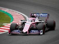 'Checo' octavo en segundos libres de Japón