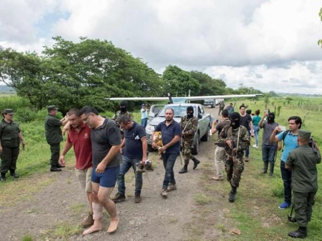Caen mexicanos en  operativo antidroga