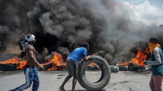 Haití en huelga