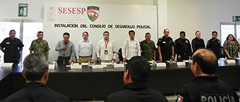 nstalan Consejo de Desarrollo Policial