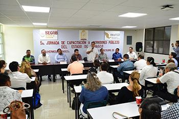 Arranca Jornada de  Capacitación a Servidores Públicos de Tabasco