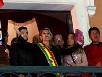 Jeanine Añez  asume el poder
