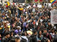 Protestan contra el gobierno de Duque