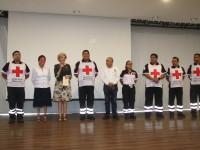 Importante capacitar al  personal de la Cruz Roja