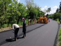 Reconstruyen cinco kilómetros de camino  Samarkanda-Lagartera
