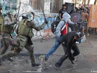 Nuevo brote de violencia en Chile