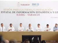 Respalda información del INEGI  políticas públicas de Tabasco: Adán