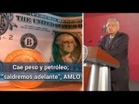 Pese a la caída de la Bolsa la economía mexicana  saldrá adelante: Obrador