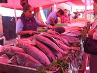 Poca venta de pescado