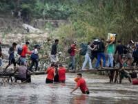 Venezolanos desafían cerco de la pandemia