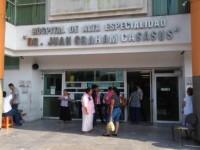 Suspenden Hospitales de Alta  Especialidad consultas externas