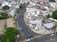 Vacías las calles de Villahermosa