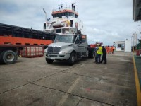 La infraestructura portuaria sin daños