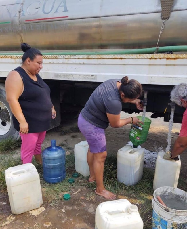 Valle Real y Pomoca no tienen agua potable