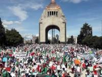 Protestan en la capital