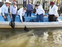 Anuncian dragado del río Grijalva  y de cuerpos lagunares en Centro